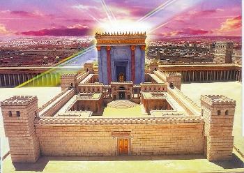 De Heilige Tempel. Bron: Familie Sivan